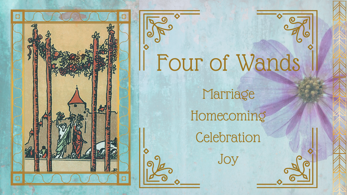 Four of Wands tarot card meanings